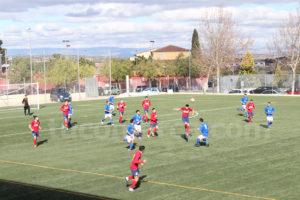 El Chiva CF y el CD Cheste ofrecen un interesante derbi este fin de semana. Foto: Raúl Miralles.