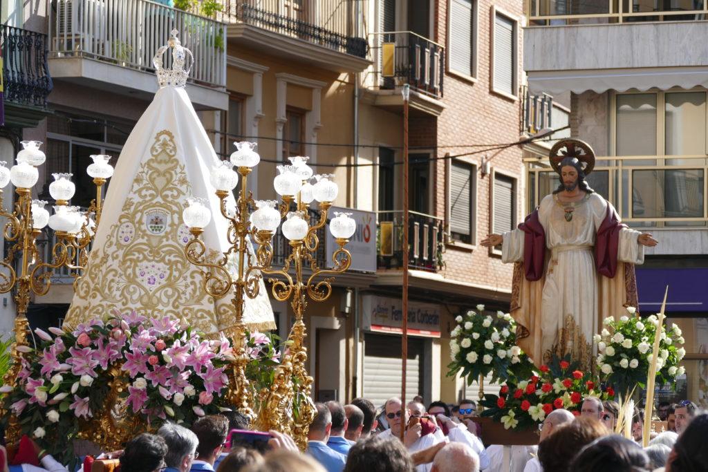 Una imagen del Encuentre de Cheste, con el que tradicionalmente se inician las fiestas de La Soledad. Foto: Picazo.