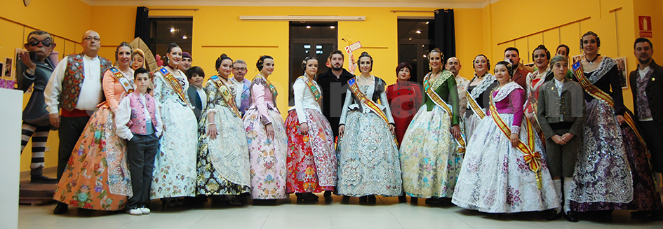 Foto de la Exposición del Ninot del año pasado.