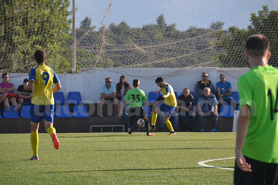 La UD Yátova es el conjunto de La Hoya de Buñol-Chiva mejor situado en todas las competiciones. Foto: Raúl Miralles Lacalle.