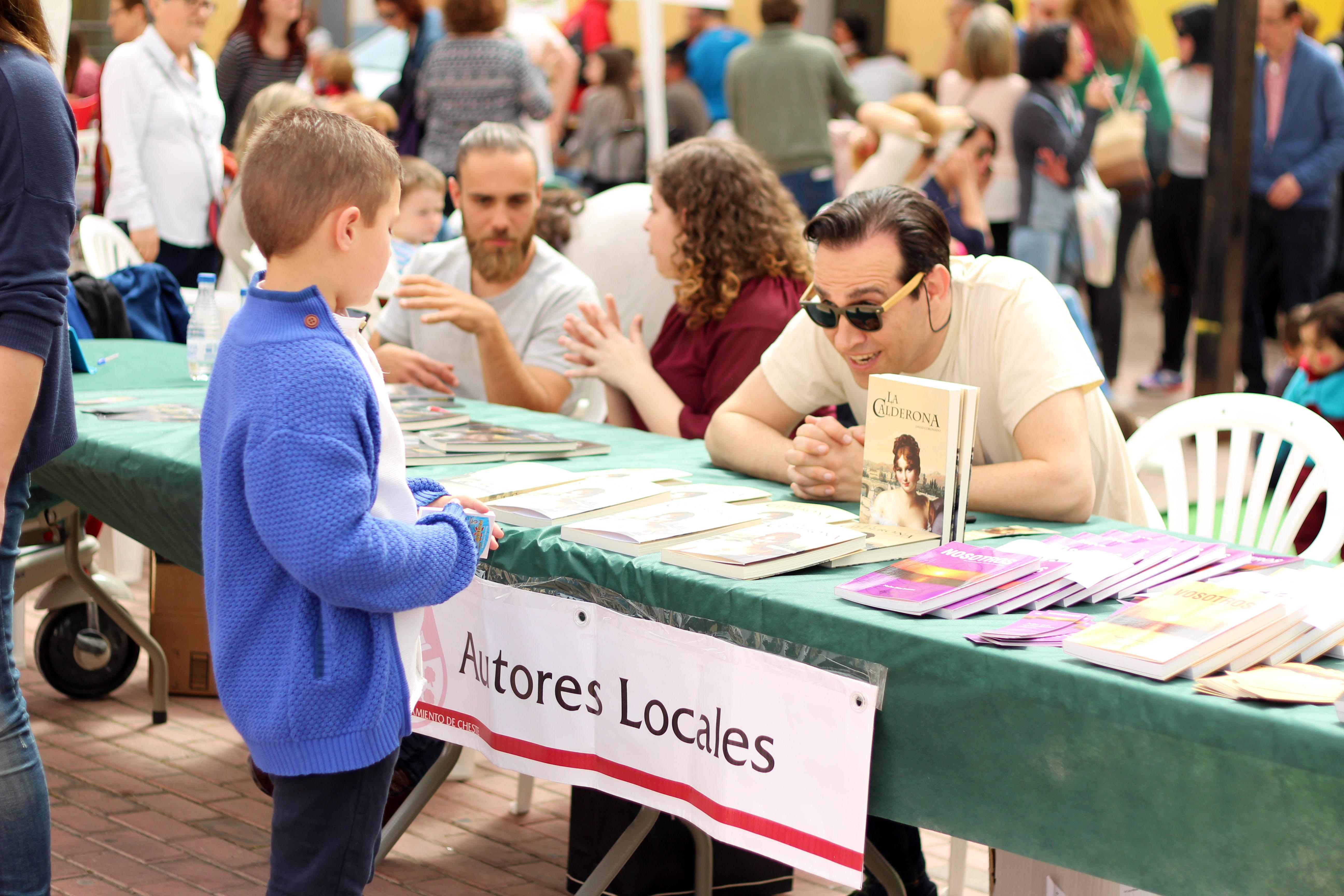 Feria del Libro 2018 en Cheste.