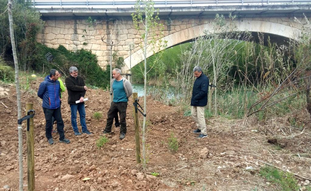 Los parajes naturales de Manuel y Barxeta mejoran sus condiciones con la ayuda de la Diputació.