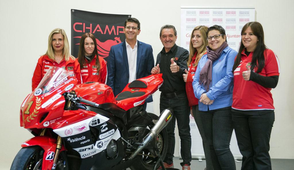 El Champi Women Racing y la Diputació apuestan por el liderazgo femenino en un foro en el Circuit.