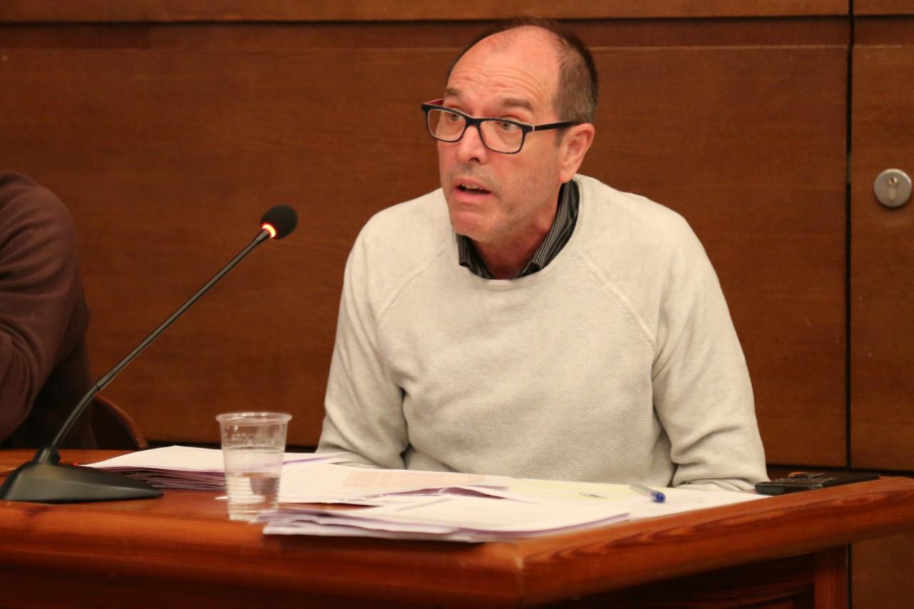 José Vicente Guijarro, concejal de Compromís en Cheste.