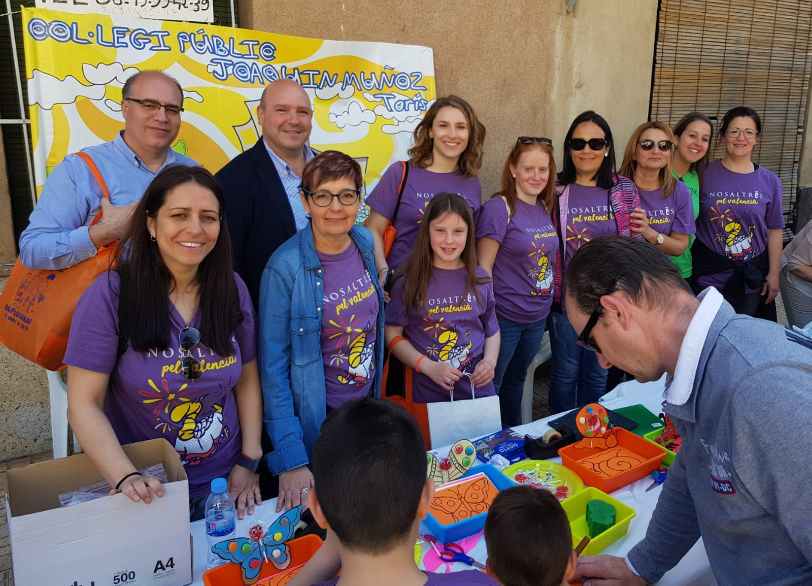 Les autorizas municipales han participat en la XXXIII Trobada d'Escoles en valencià celebrada a Rafelguaraf.