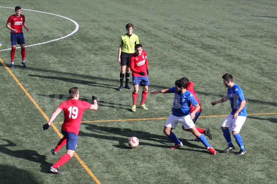 El Chiva CF ha caído por la mínima. Foto: Raúl Miralles.