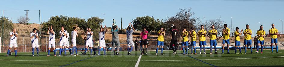 El Macastre ha caído en su último partido contra el Camporrobles. Foto: Raúl Miralles.