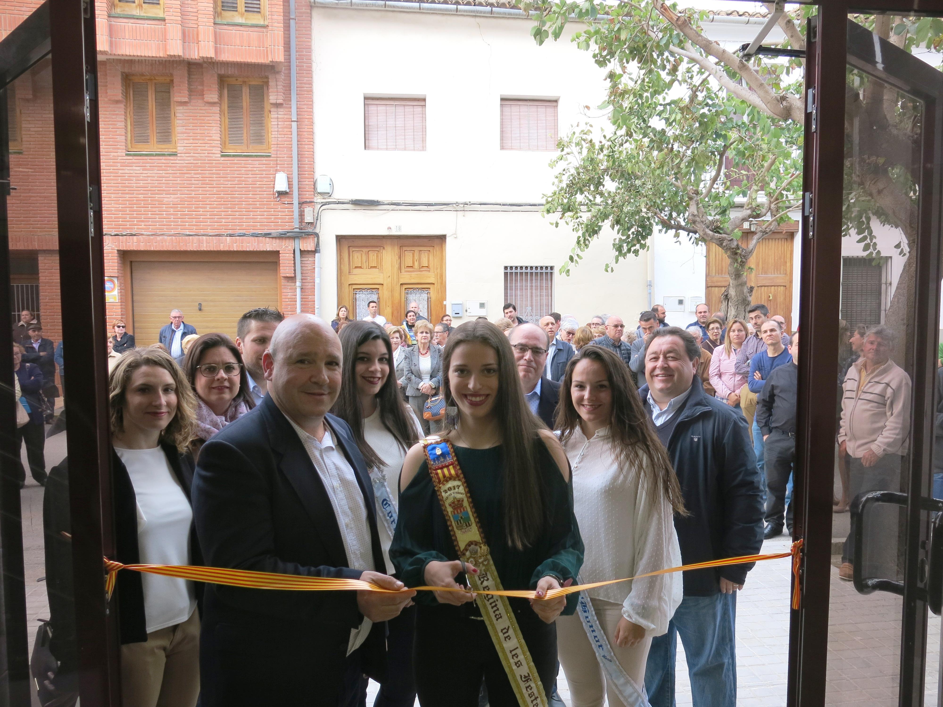 El nou Centre d'Associacions i Joventut que ocupa el que era l'antic centre de salut.