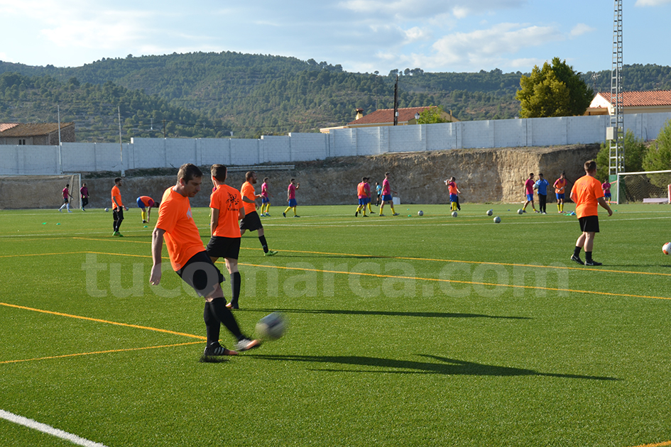 La UD Yátova es ha impuesto al Chiva CF en el derbi comarcal Foto: Raúl Miralles.