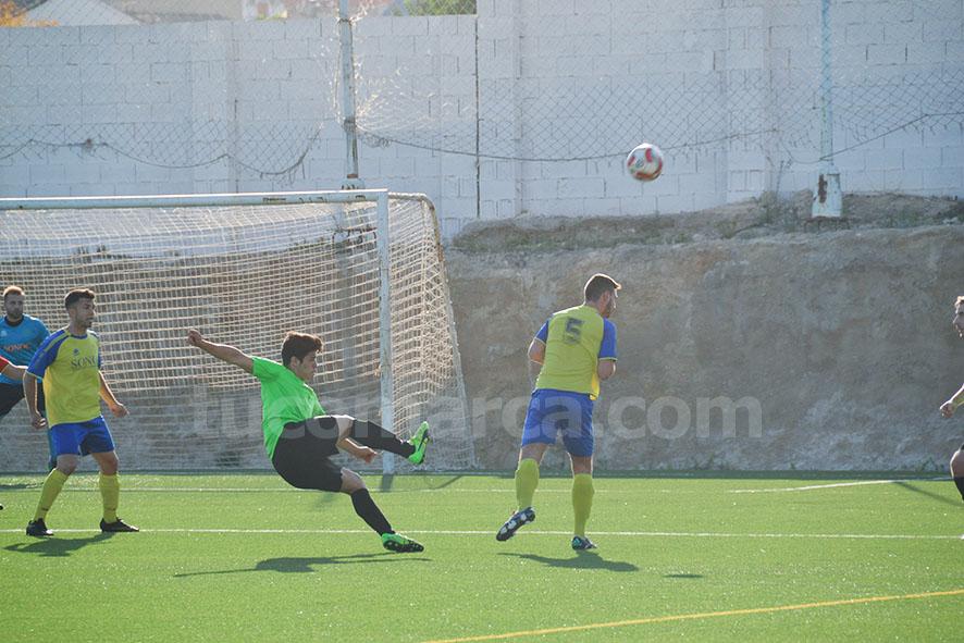 La UD Yátova ha caído inexplicablemente ante un rival situado por debajo en la tabla. Foto: Raúl Miralles.