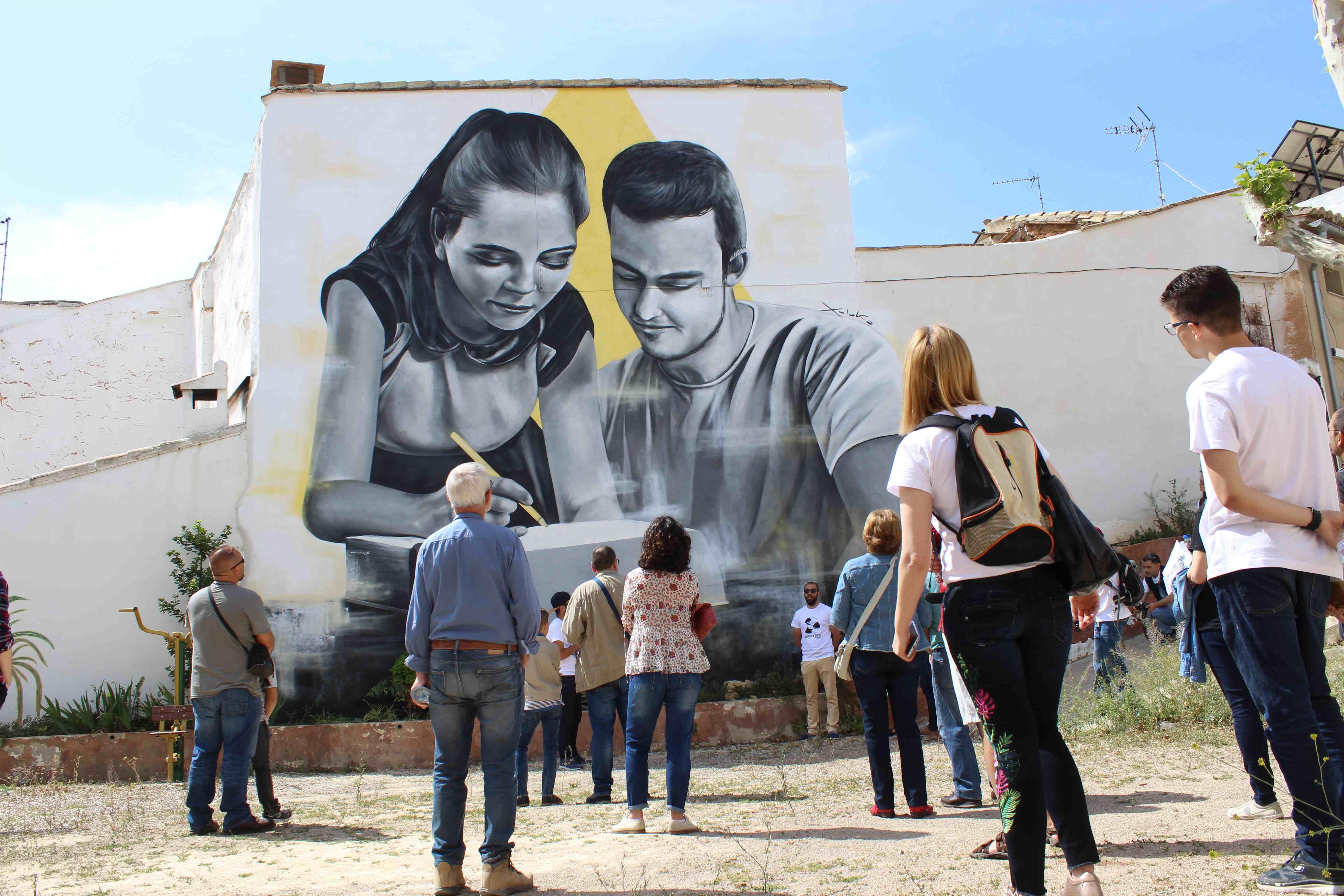 Una imagen de la edición del año pasado de Graffitea.