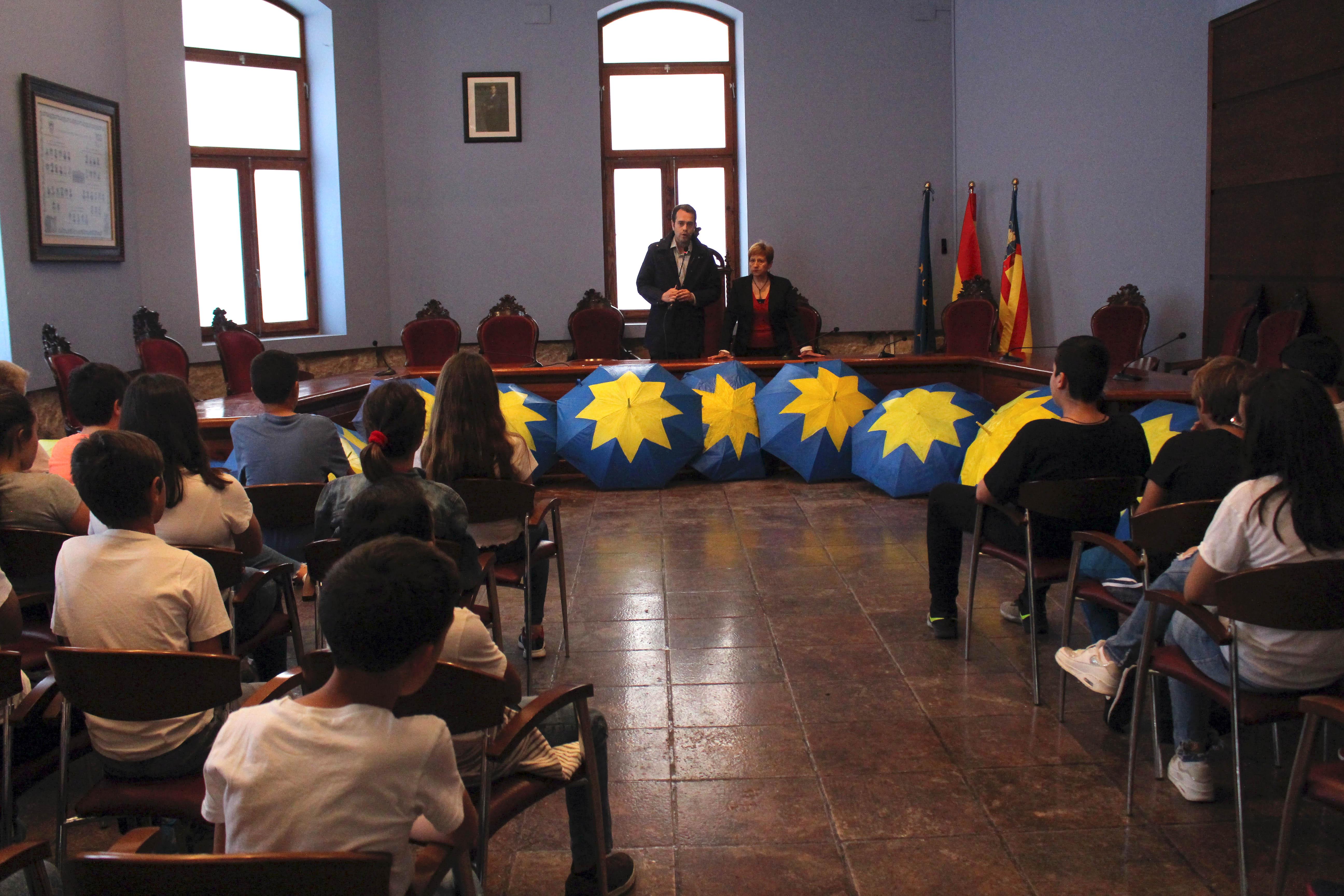 Celebración del Día de Europa en Cheste.