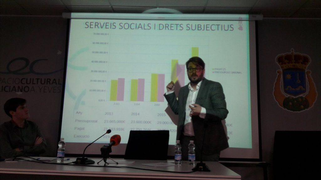 Alberto Ibáñez ha valorado que estos datos responden a la apuesta de la Conselleria por la remunicipalización de los servicios sociales a través de la atención base y especializada.