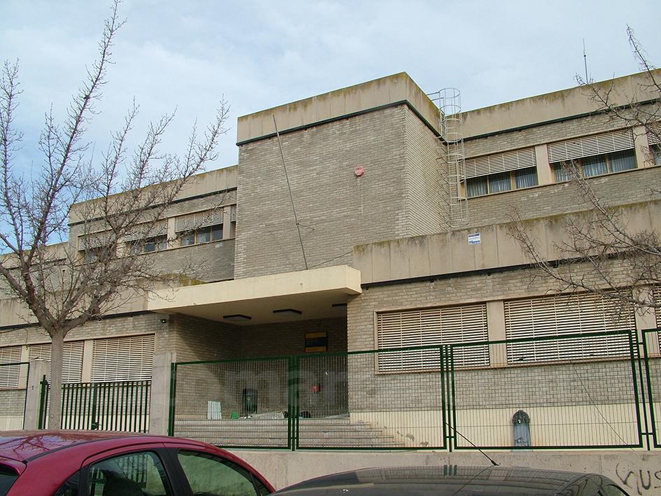 Una imagen de las instalaciones del antiguo instituto de Buñol.