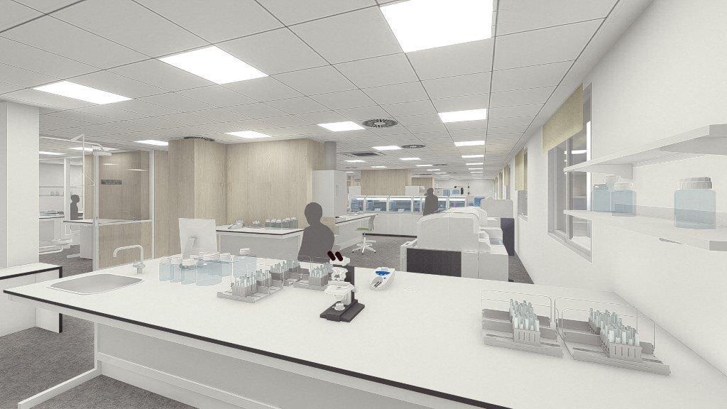 Durante las obras, el laboratorio se trasladará al sótano del Hospital Arnau de Vilanova y está previsto que finalice el proceso a mediados de octubre.