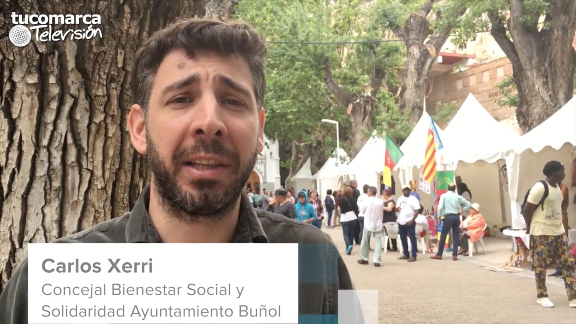 El concejal de Solidaridad del Ayuntamiento de Buñol, Carlos Xerri.
