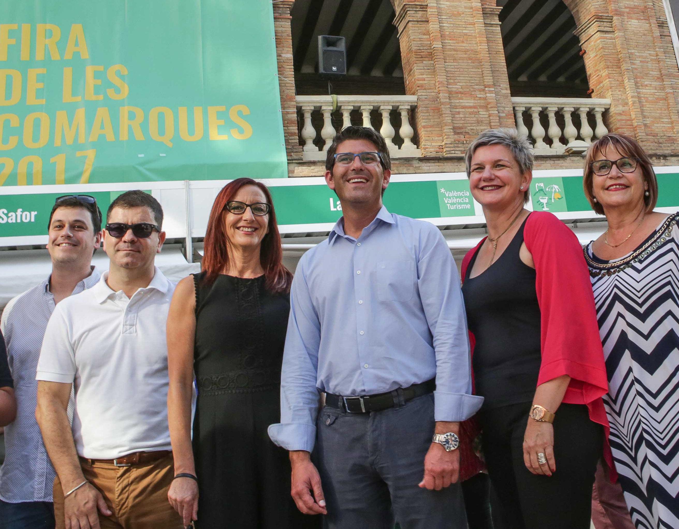 Presentación de la edición de la Fira de les Comarques de 2017.
