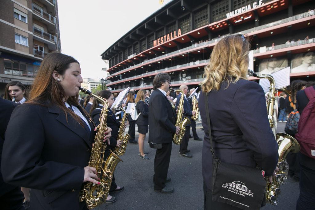 En total, la FSMCV ha conseguido 13 Guinness del ámbito musical en el último mes.