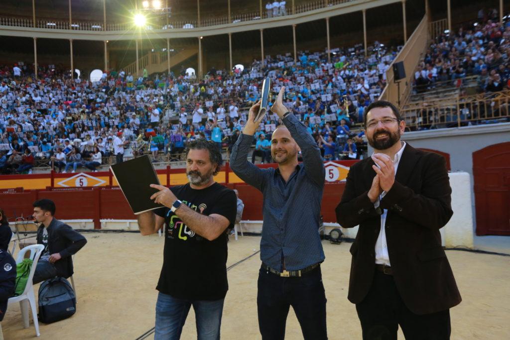 Adolf Murillo, Pere Vicalet y Jorge Sastre.