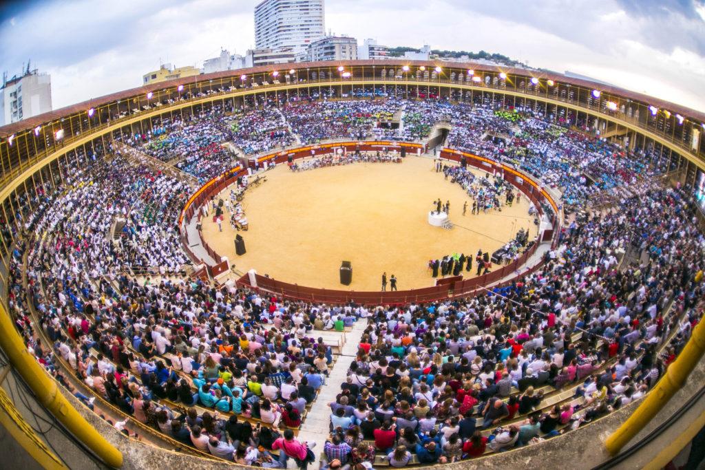 Aspecto que ofreció la plaza de toros de Alicante.