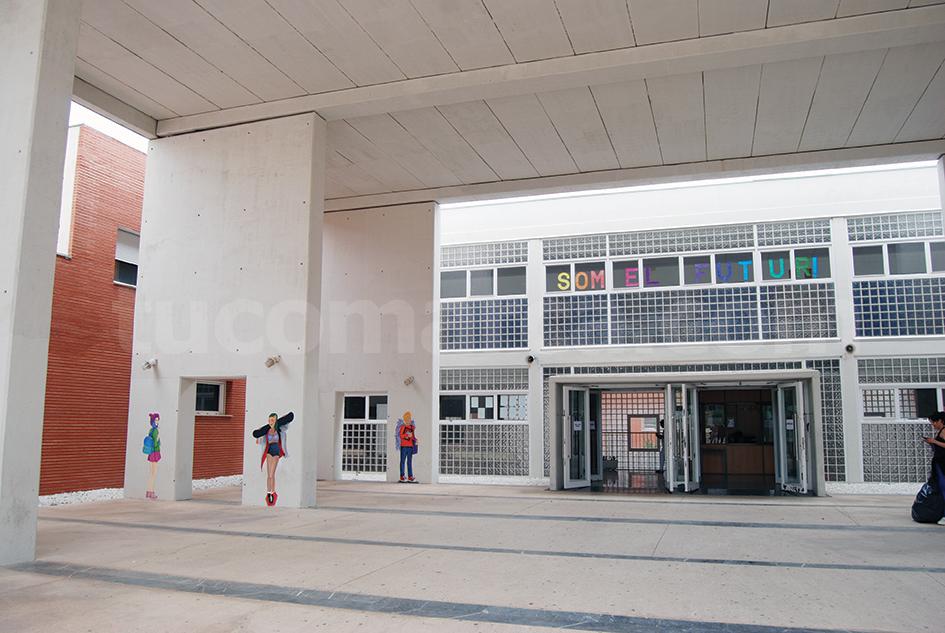 Instalaciones del Instituto La Hoya de Buñol.