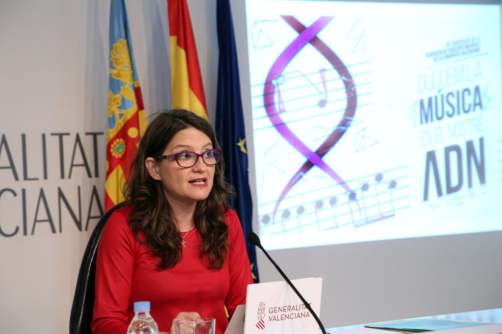 La Vicepresidenta del Gobierno valenciano, Mónica Oltra.