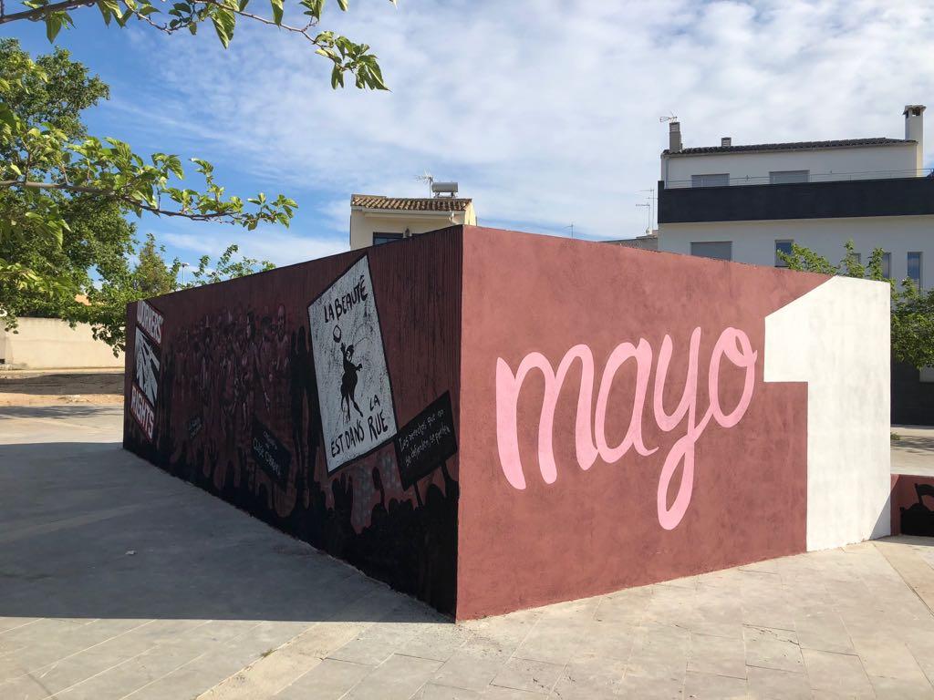 Monumento al 1 de Mayo en Cheste.