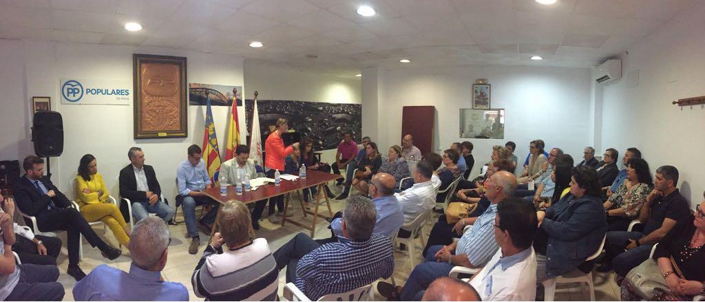 """El PPCV ha iniciado una campaña para desmontar la """"postverdad"""" de Montón sobre la reversión del Hospital de la Ribera."""