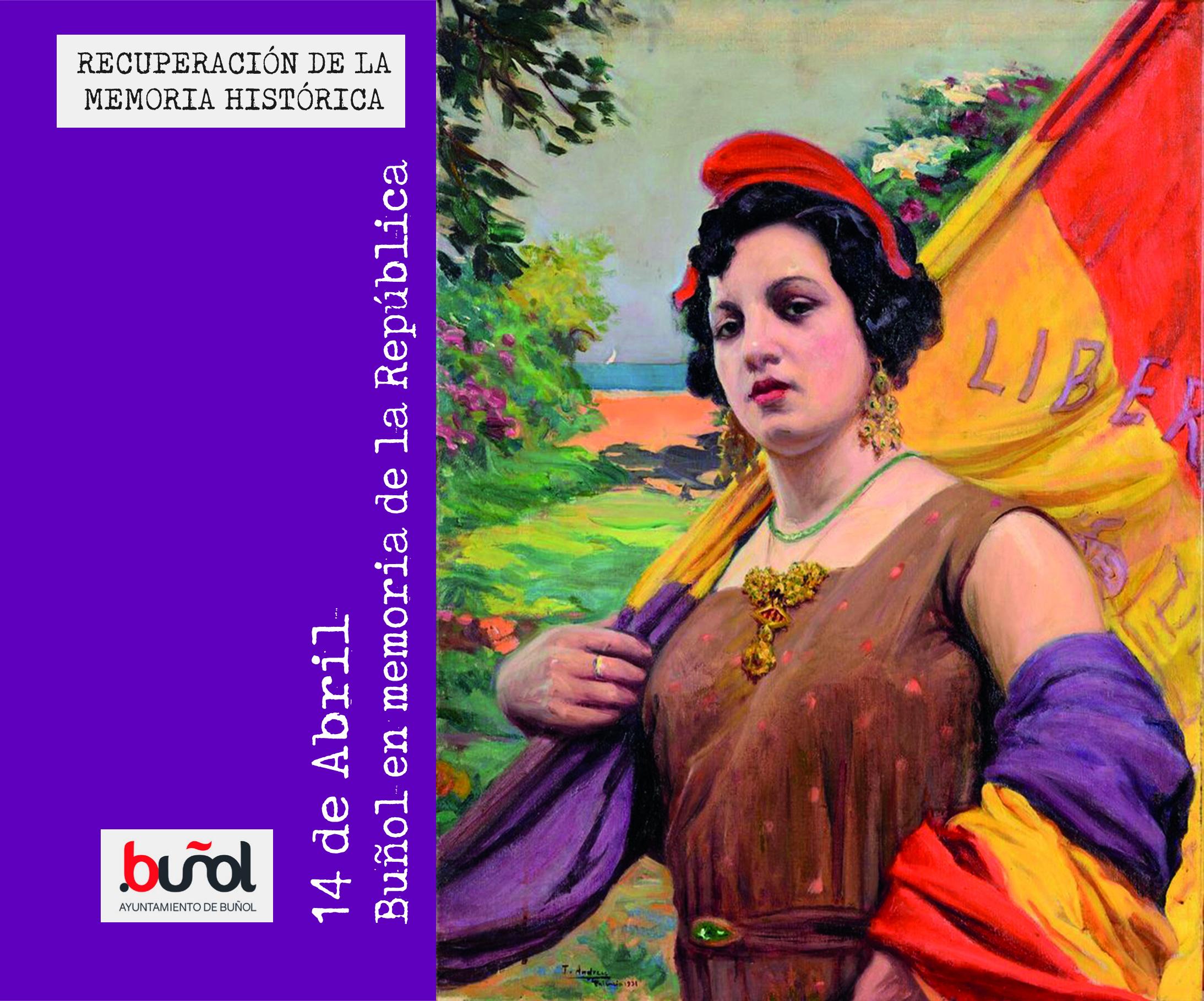 Buñol organiza actos por la República y la Memoria Histórica.