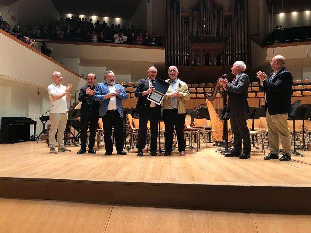 Primer premio y mención de honor de Especial a la Unión Musical de Godelleta.