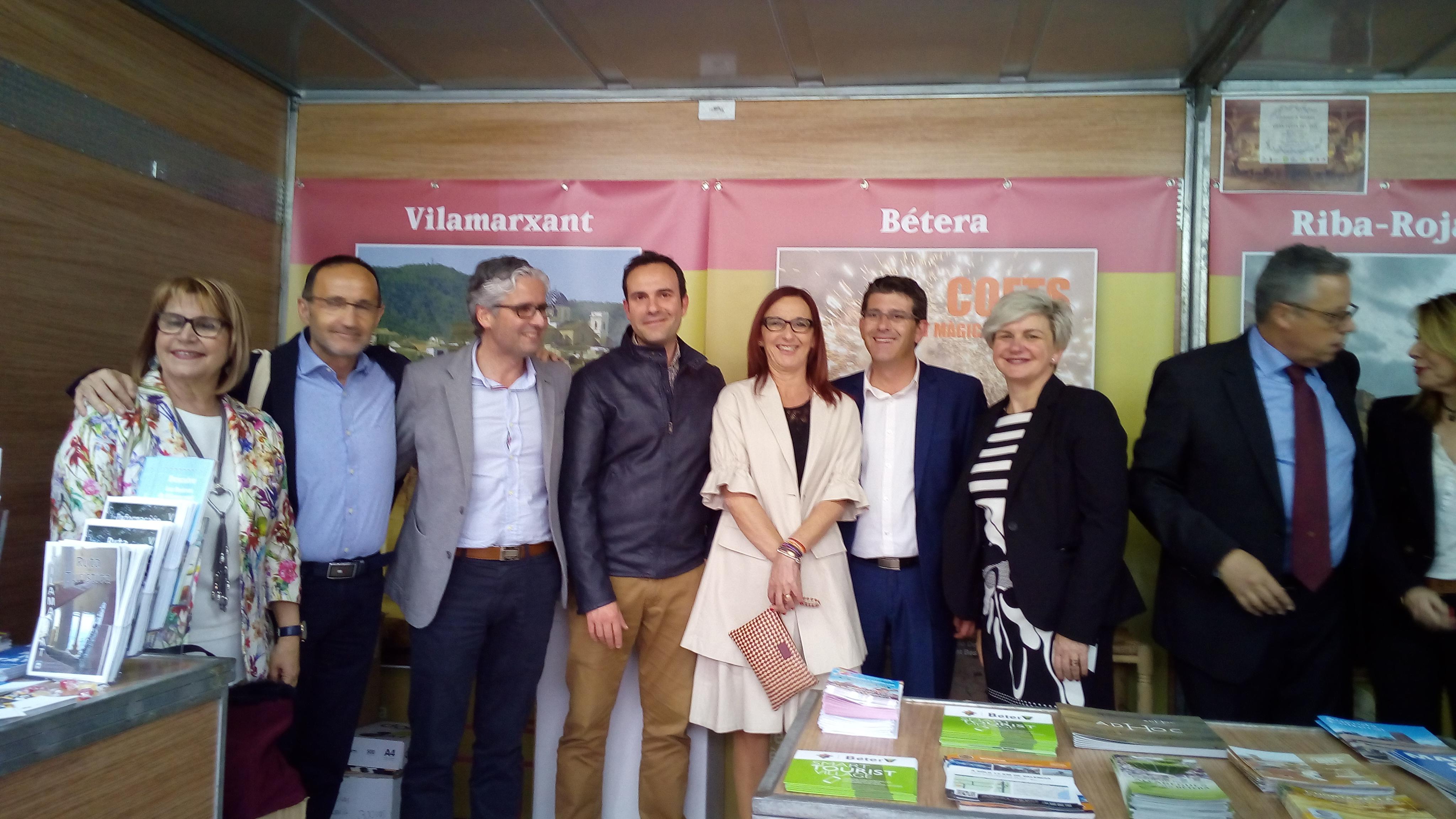 Un any mes, Vilamarxant ha estat present a la Fira de les Comarques.