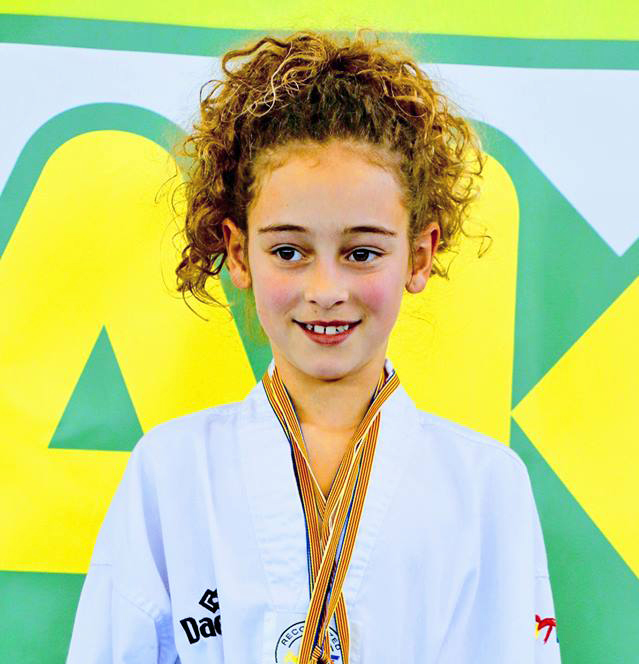La deportista buñolense Daniela Furriol.
