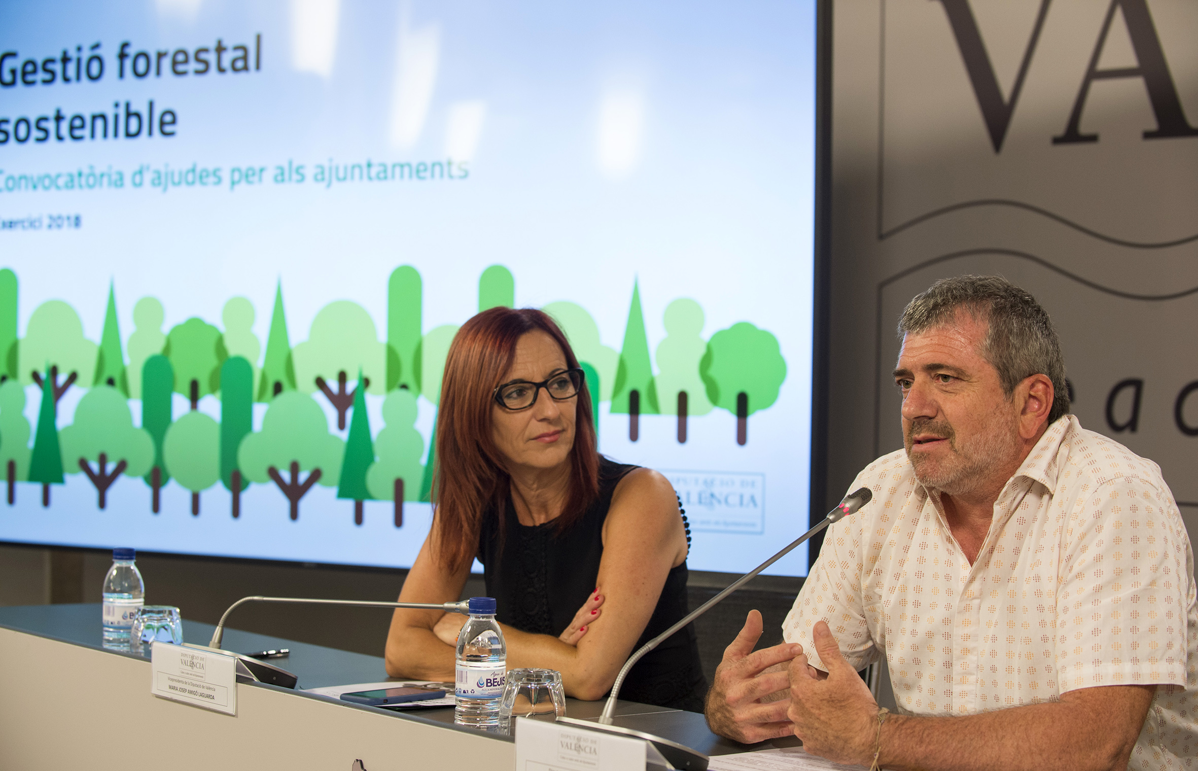 La nova convocatòria d'ajudes forestals compta amb mig milió d'euros més per a la conservació del patrimoni forestal i la prevenció d'incendis.