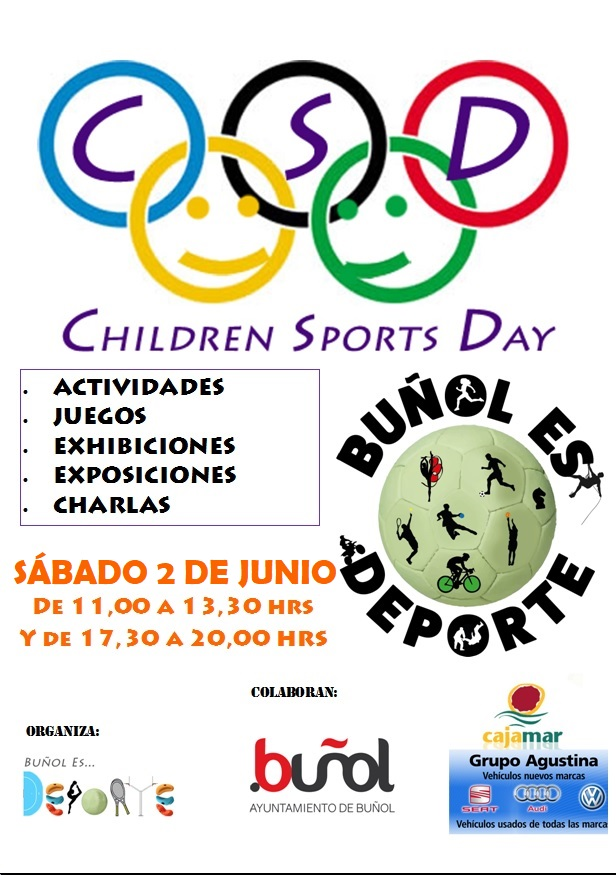 Cartel del Children Sports Day.