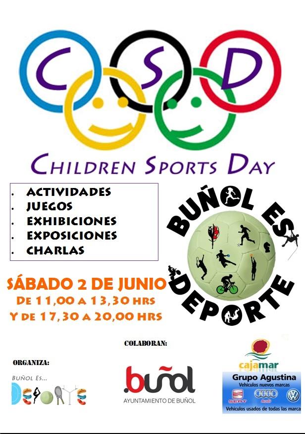 Cartel del Children Sports Day.
