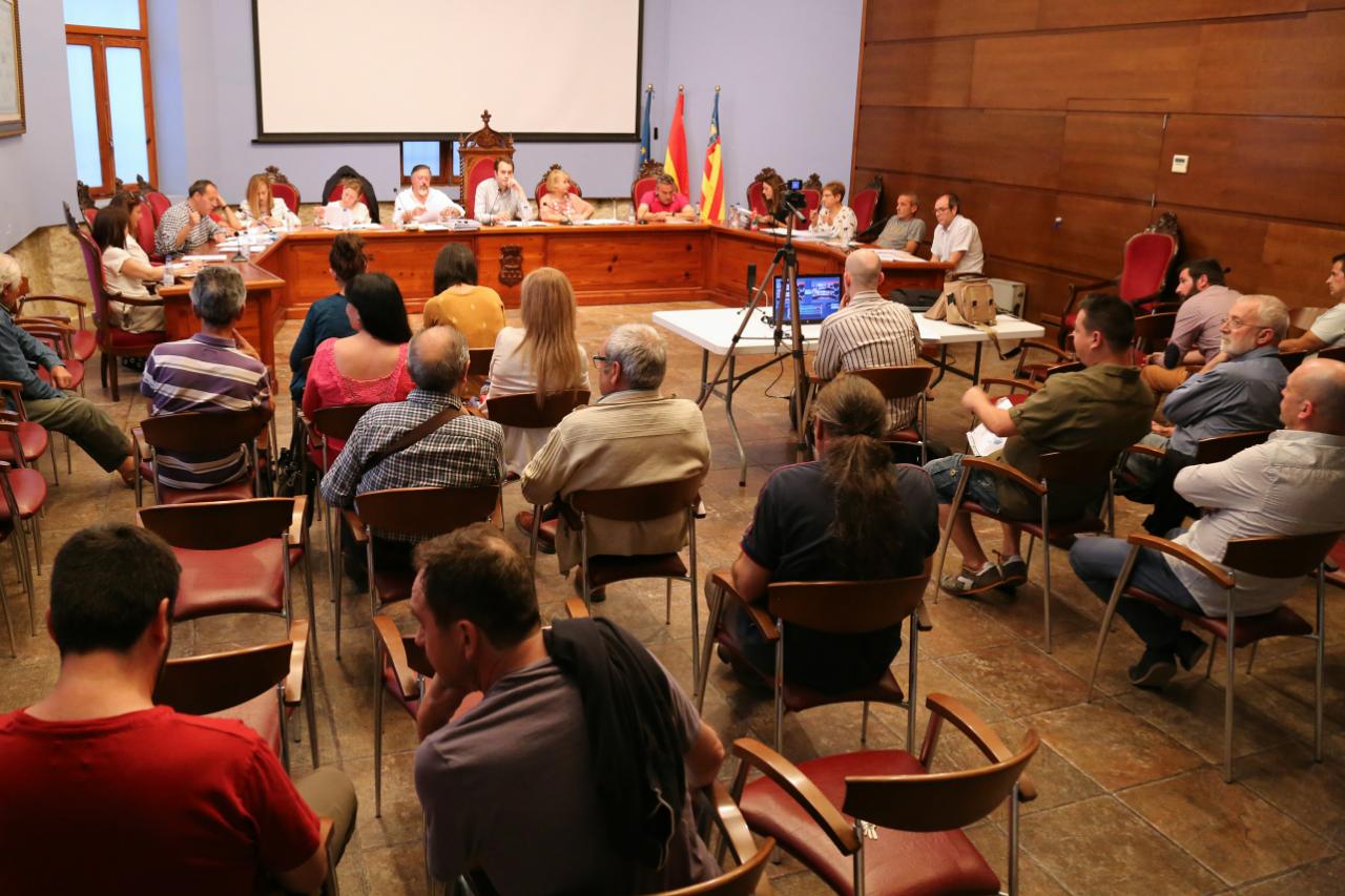 El Pleno del Ayuntamiento aprueba las modificaciones de crédito necesarias para sacar adelante nuevas inversiones.