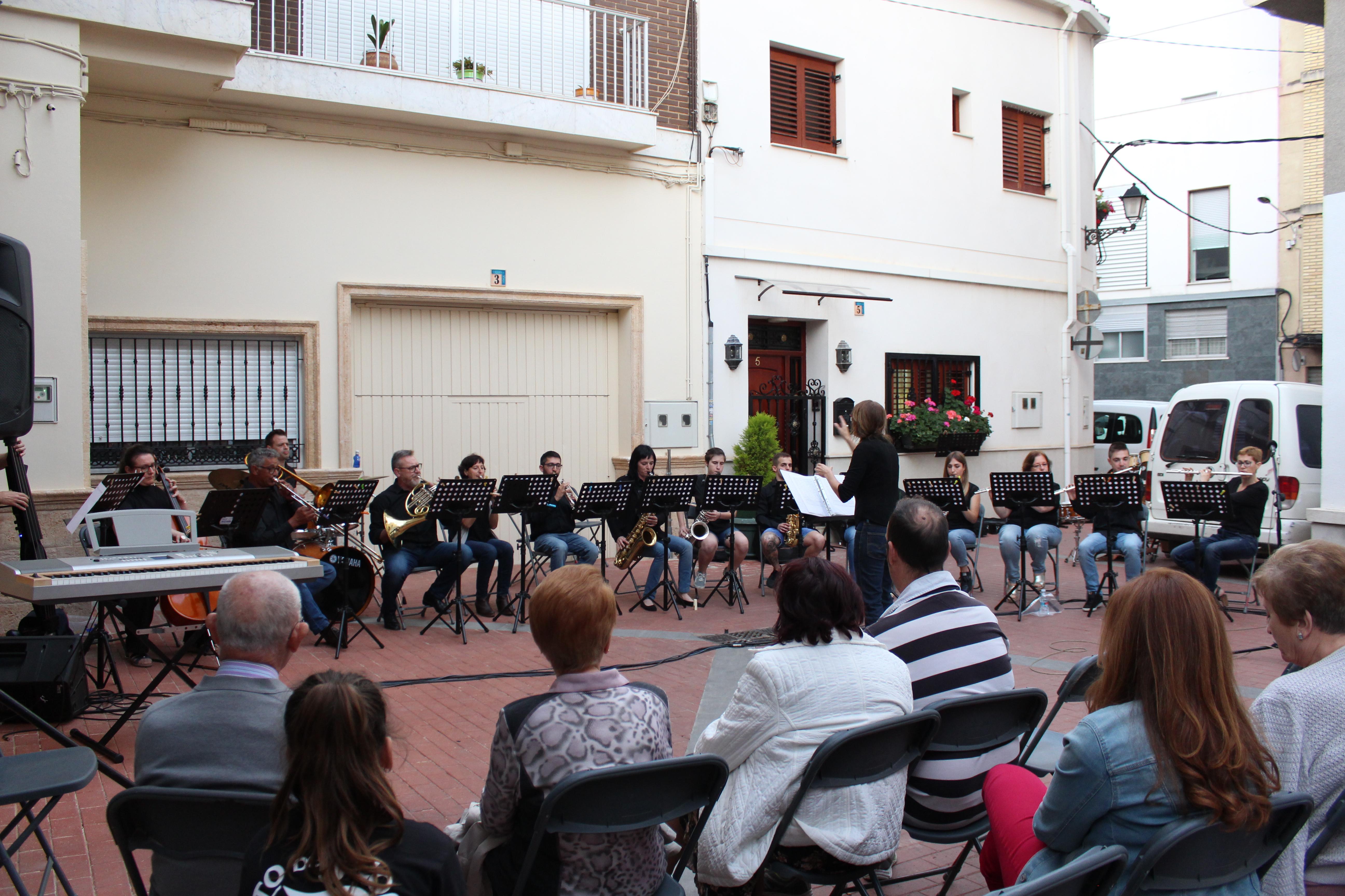 Un momento del concierto desarrollado en Cheste este pasado fin de semana.