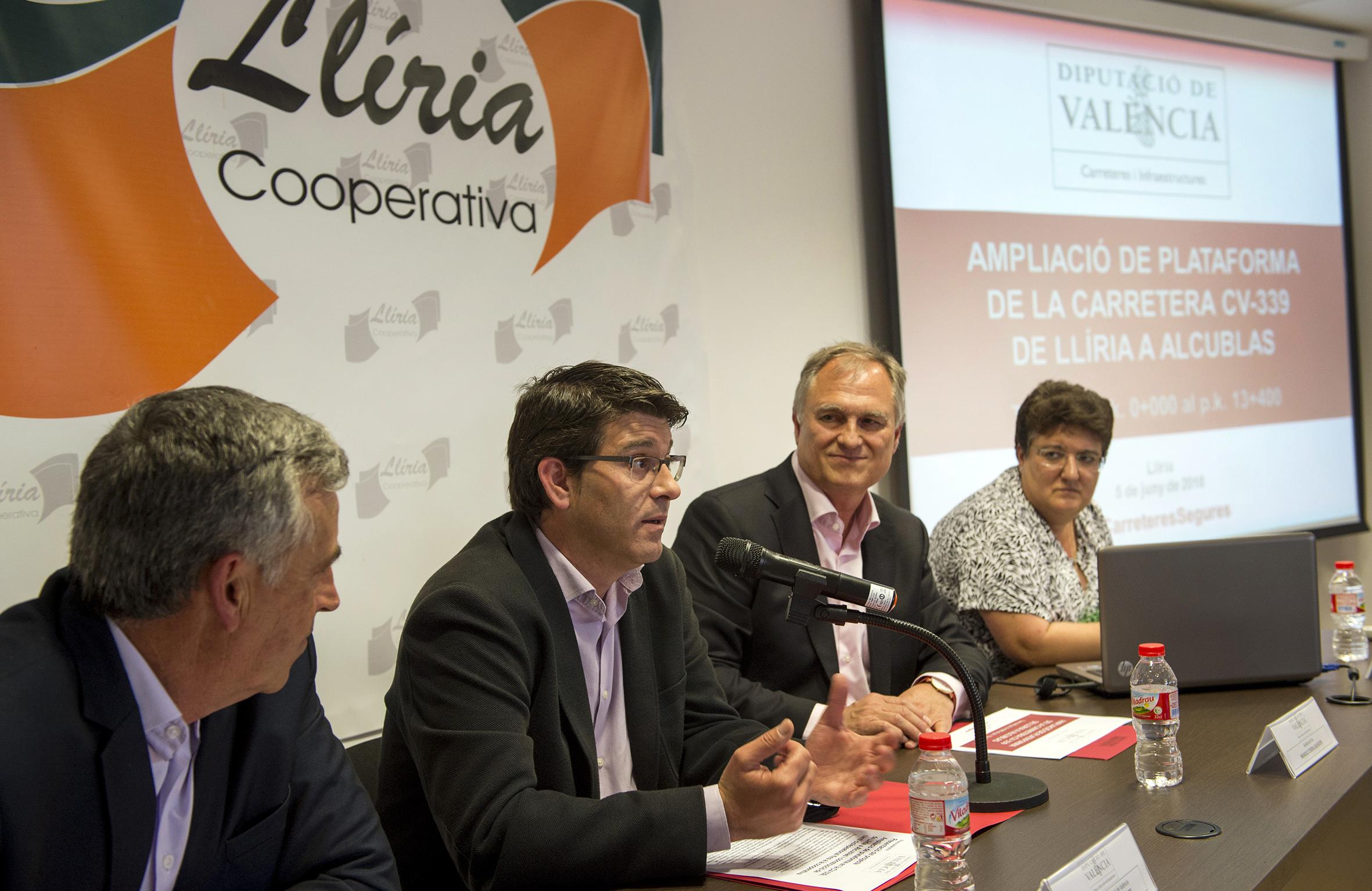 La Diputació prevé iniciar las obras de renovación de la carretera entre Llíria y Alcublas en 2019.