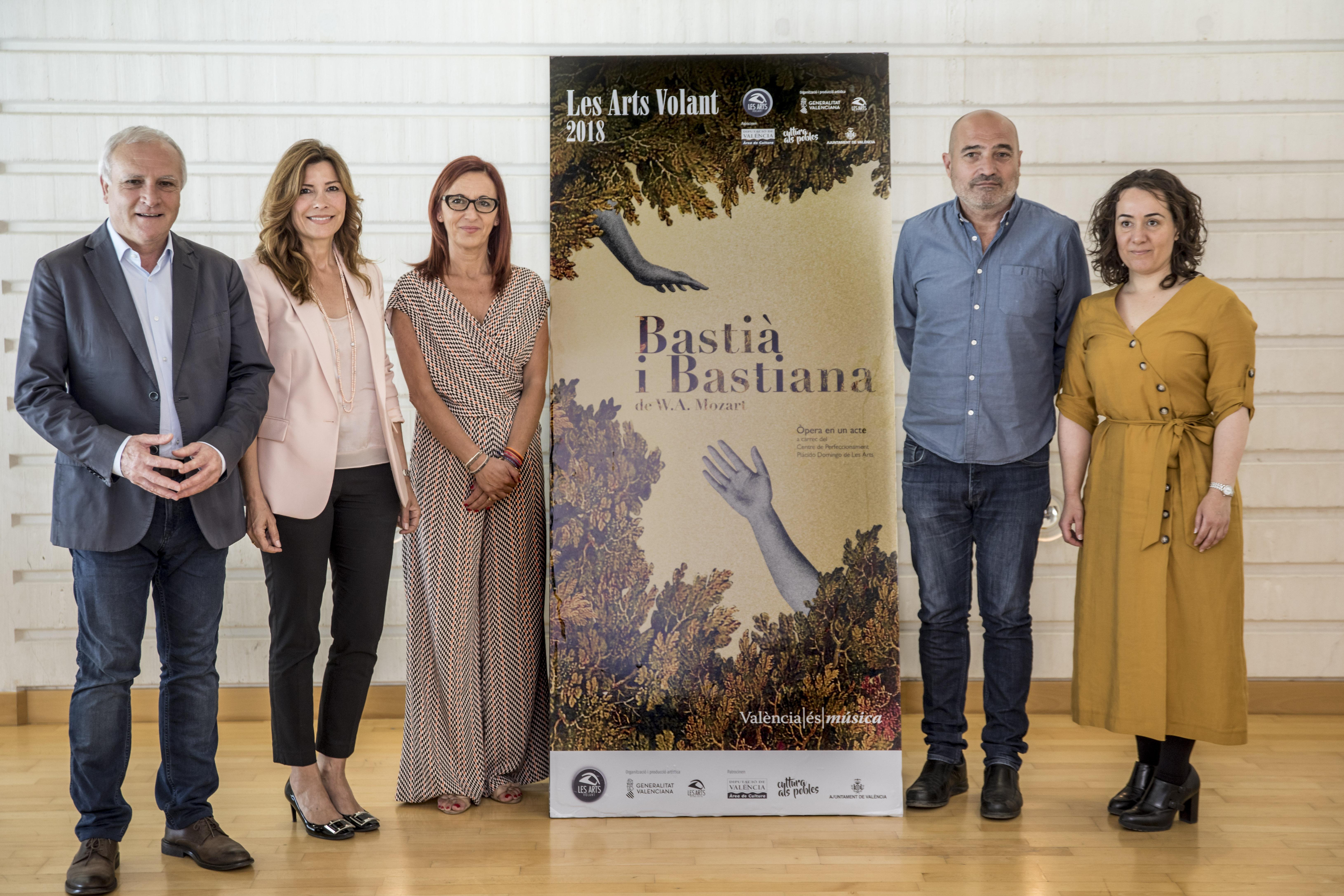 """'Les Arts Volant' visitará 14 municipis y 6 barris de València en la seua segona edició con """"Bastià i Bastiana"""""""