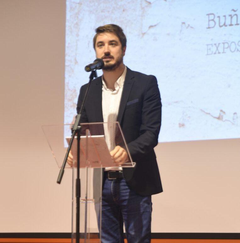Rafael Pérez, concejal de Patrimonio del Ayuntamiento de Buñol.