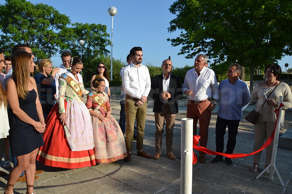 Una imagen de la Feria de Turismo, Artesanía y Gastronomía de Yátova de 2017.