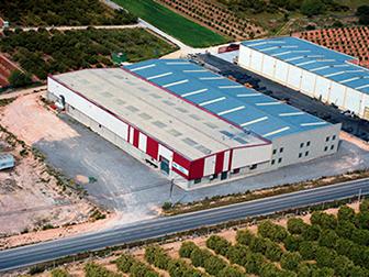 Una imagen aérea de la firma García Cámara, SL.