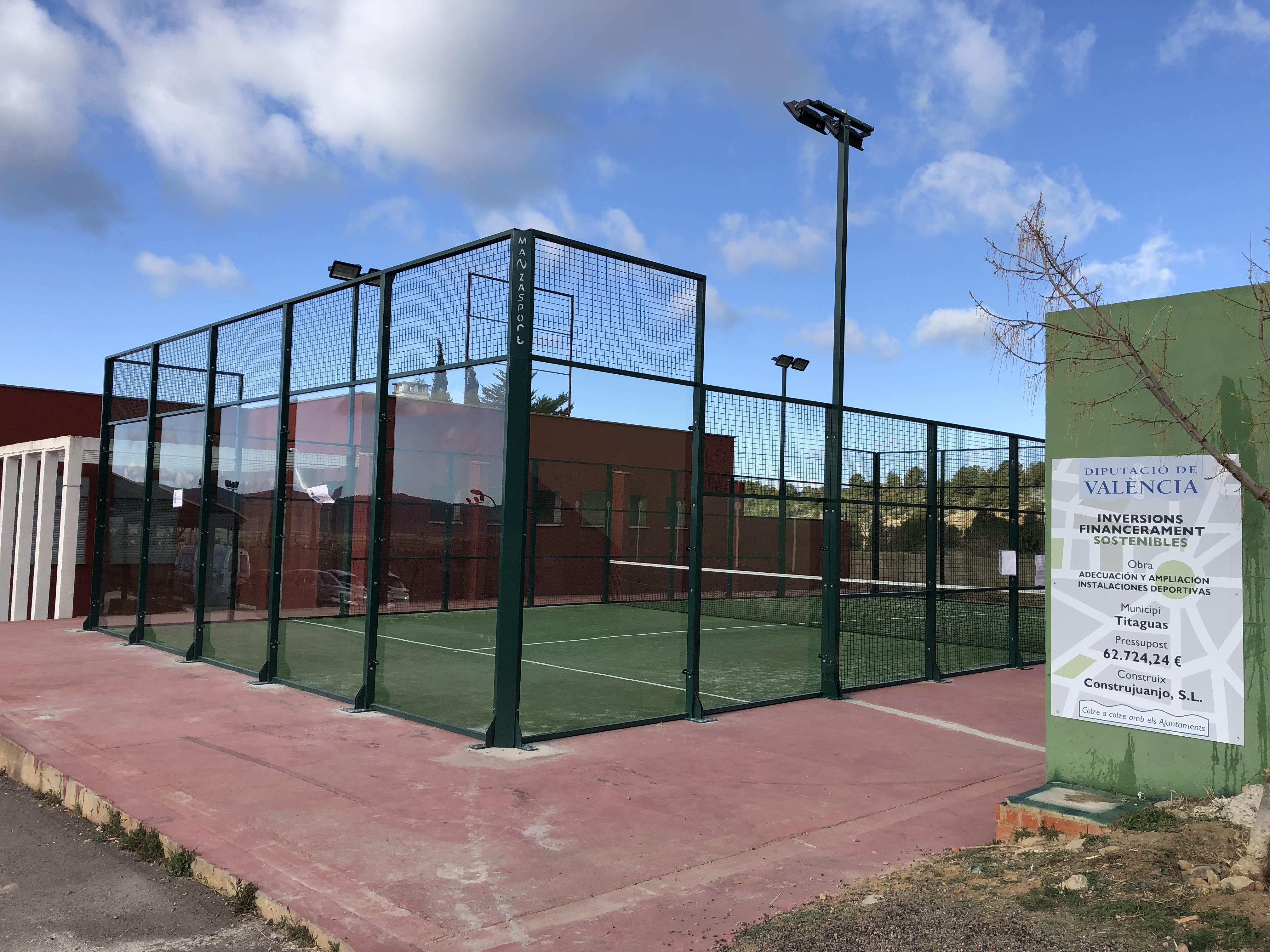 El municipio de Los Serranos destina los 63.000 euros del plan de Inversiones Sostenibles de 2017 a la mejora de sus instalaciones deportivas, dando respuesta a las demandas de vecinas y vecinos.