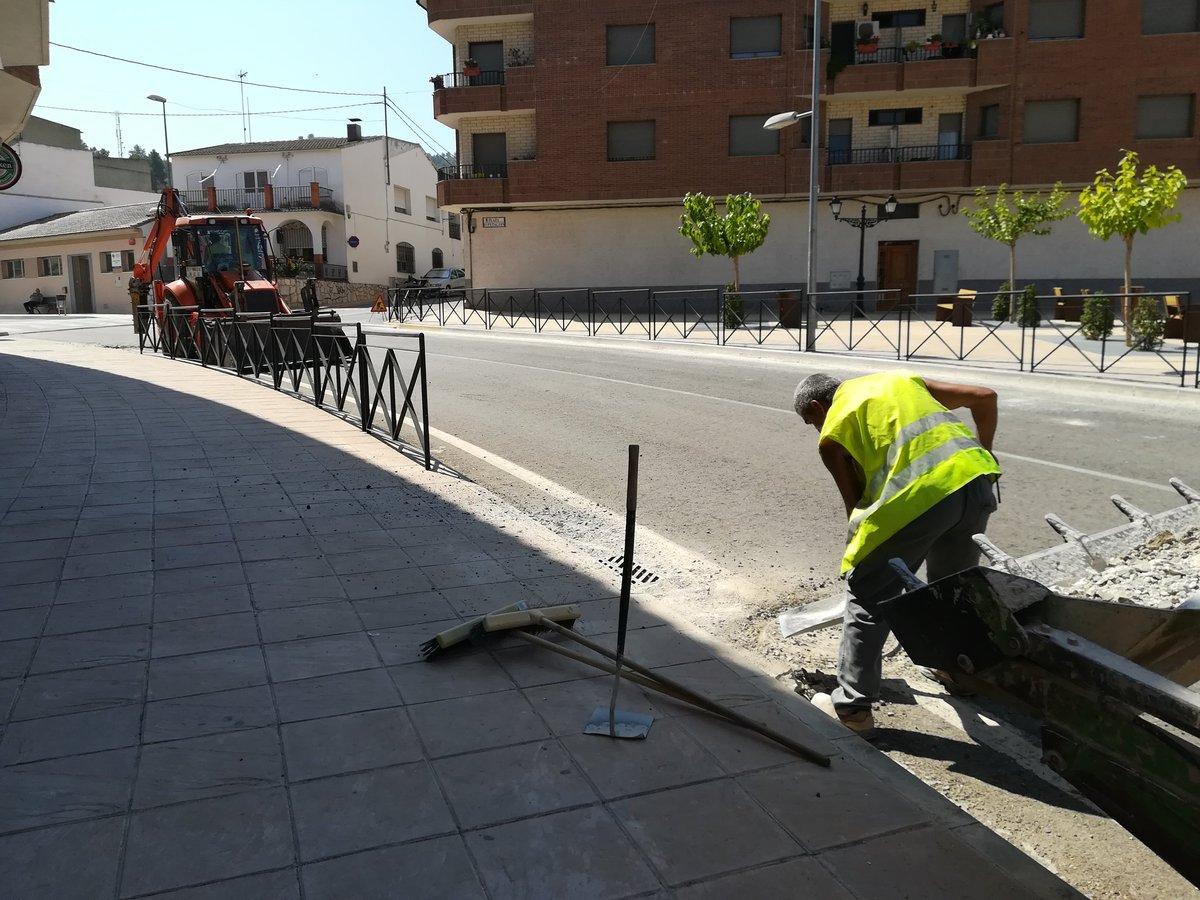 Las obras permitirán pacificar el tráfico, ordenar la circulación y estacionamiento de vehículos y mejorar el drenaje.