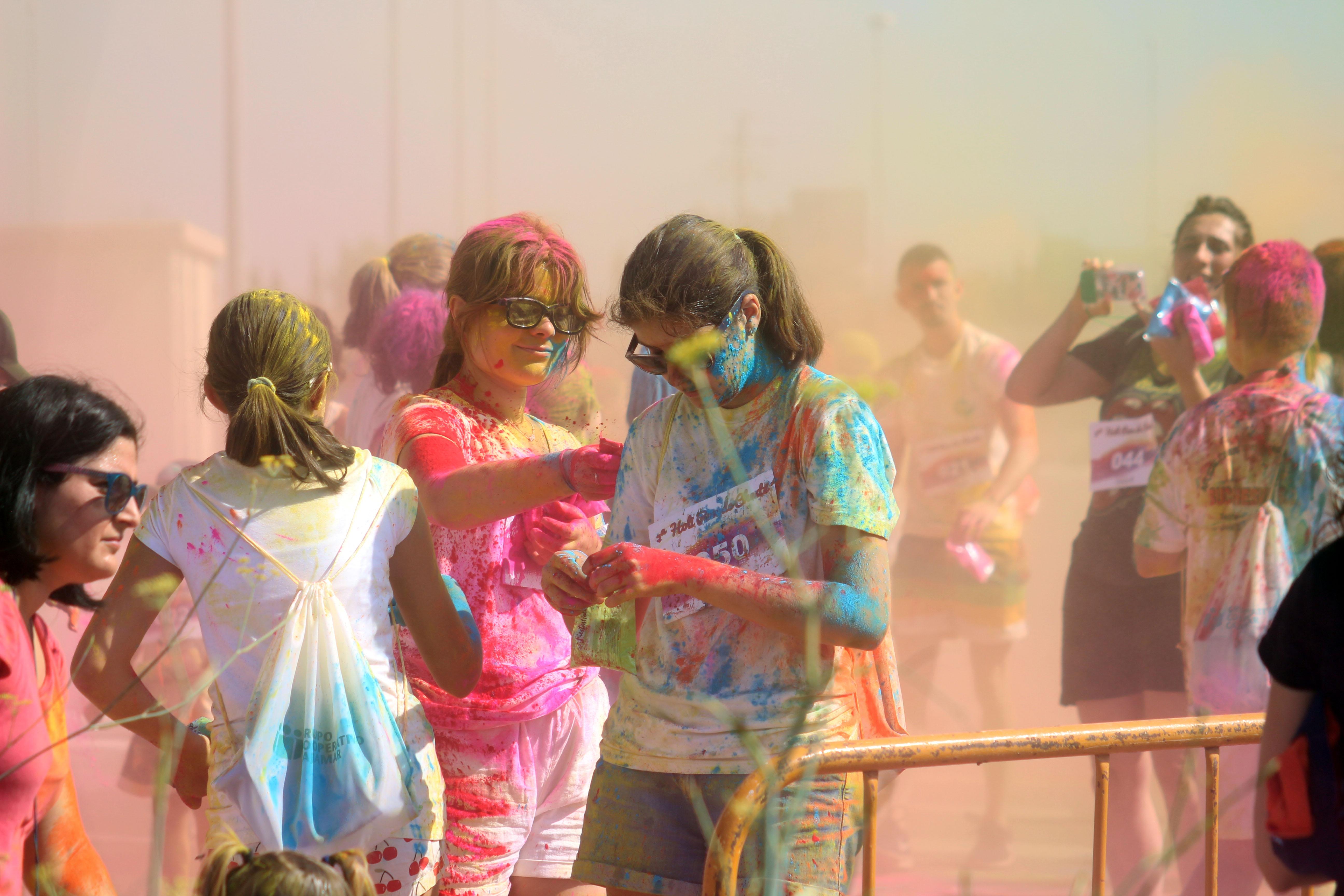 Muchas familias y jóvenes se han animado a participar en esta actividad