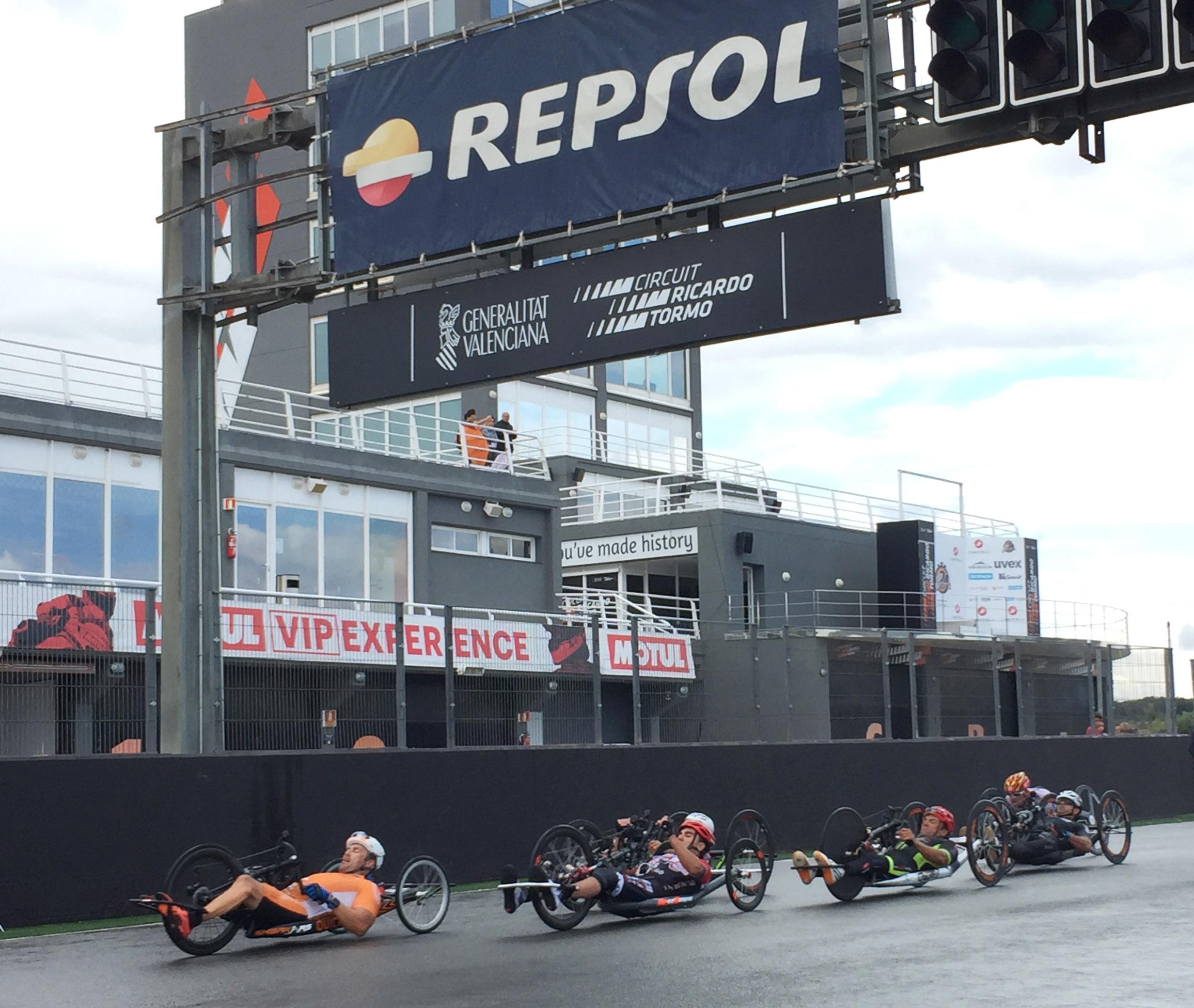 Cerca de cien inscritos en una inscripción de récord en la Copa de España de Ciclismo Adaptado
