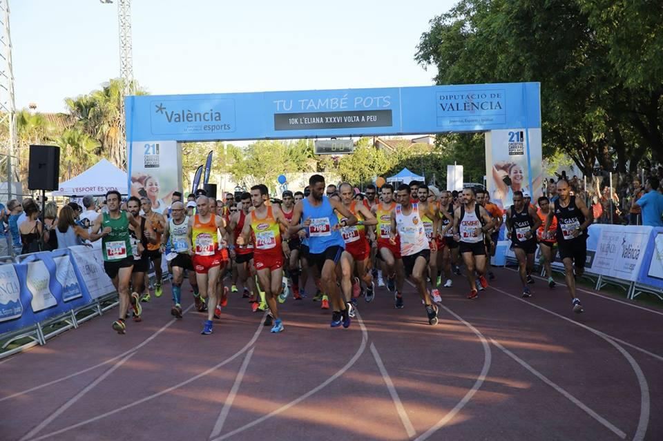 La séptima prueba del circuito de carreras de la Diputació de València estrenó un recorrido que permitió mejorar tiempos de ediciones pasadas.