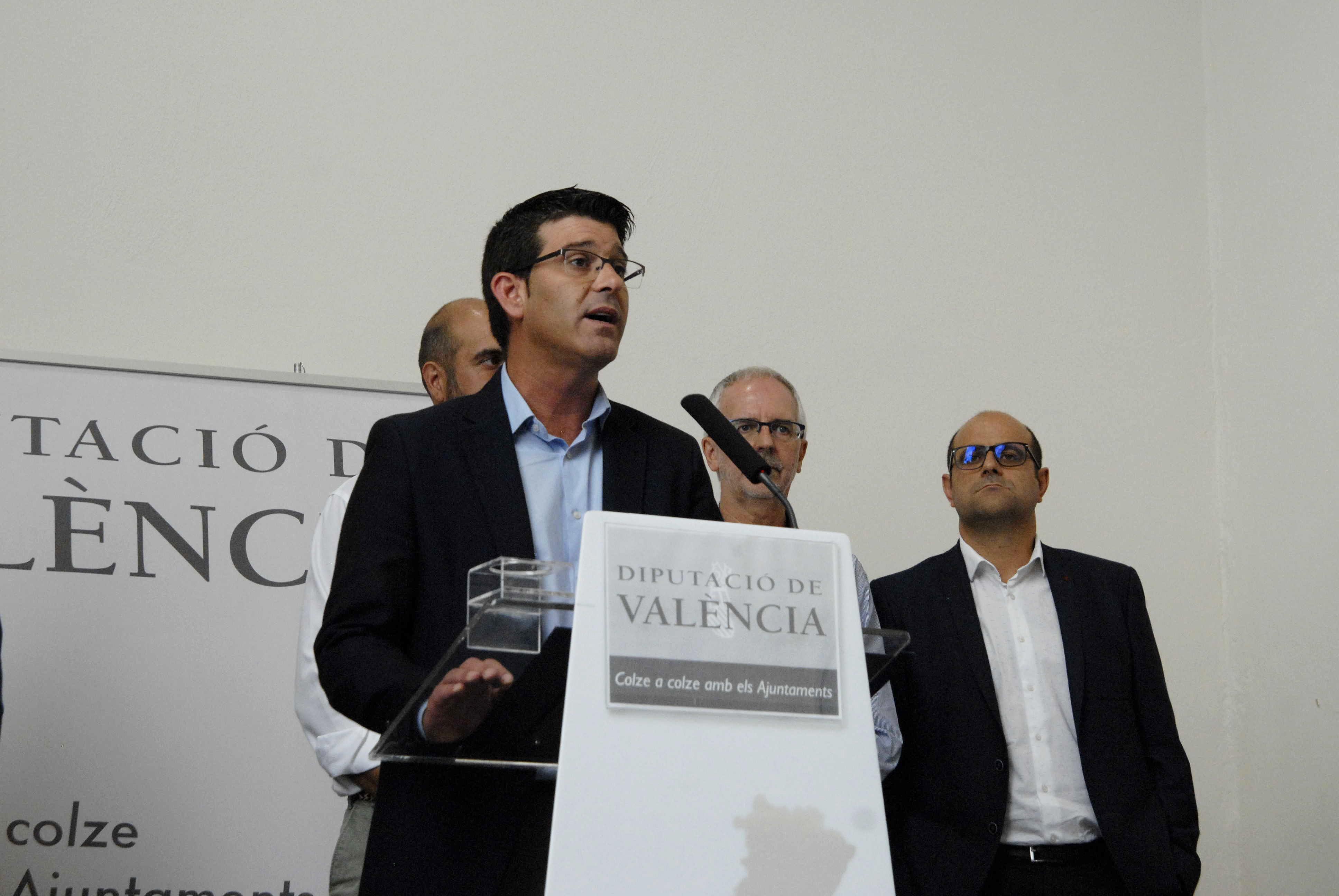 Jorge Rodríguez durante su comparecencia este lunes ante los medios.