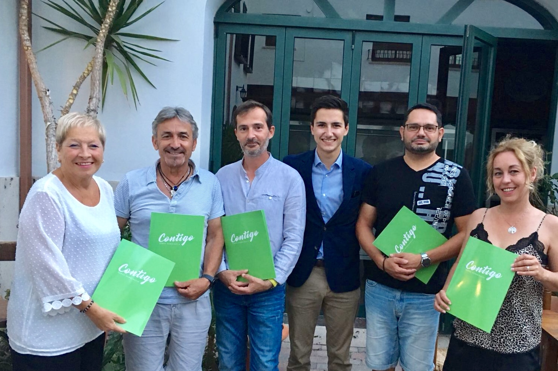 Los afiliados de Contigo eligieron a Ángel Merenciano como presidente de la agrupación de Buñol