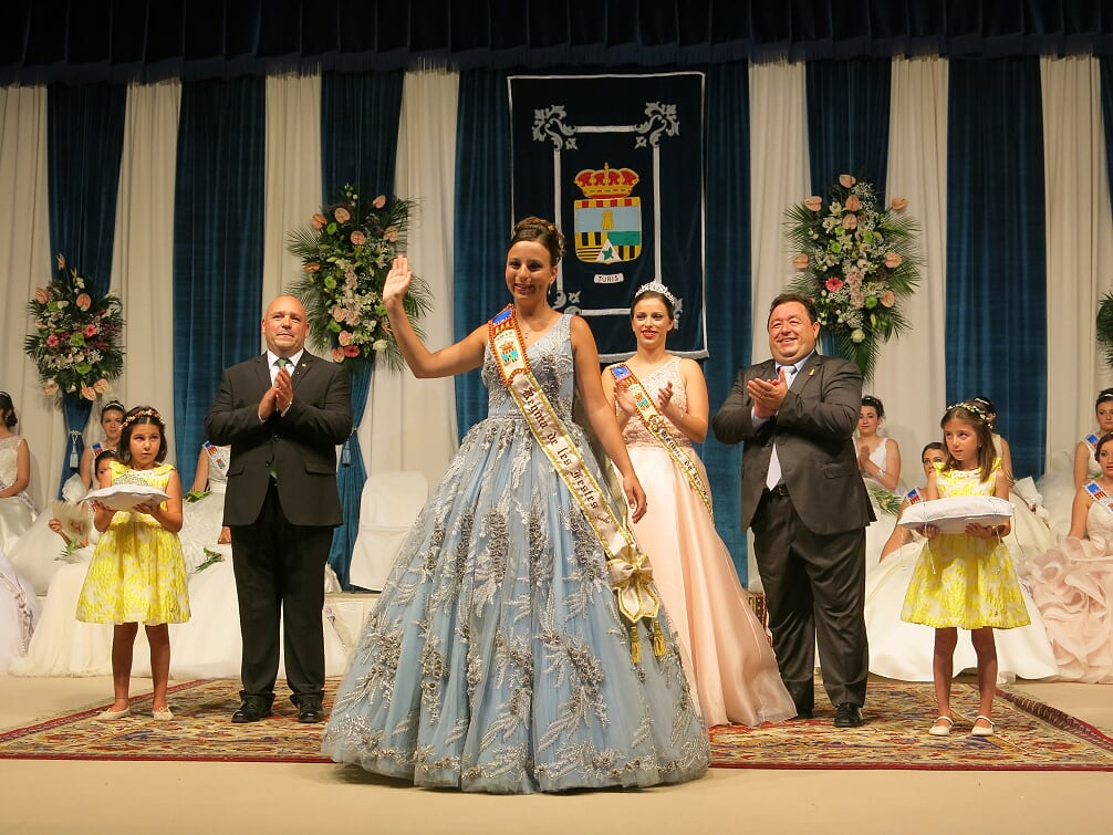 Sandra Xifre Sancho és la Reina de les Festes enguany.
